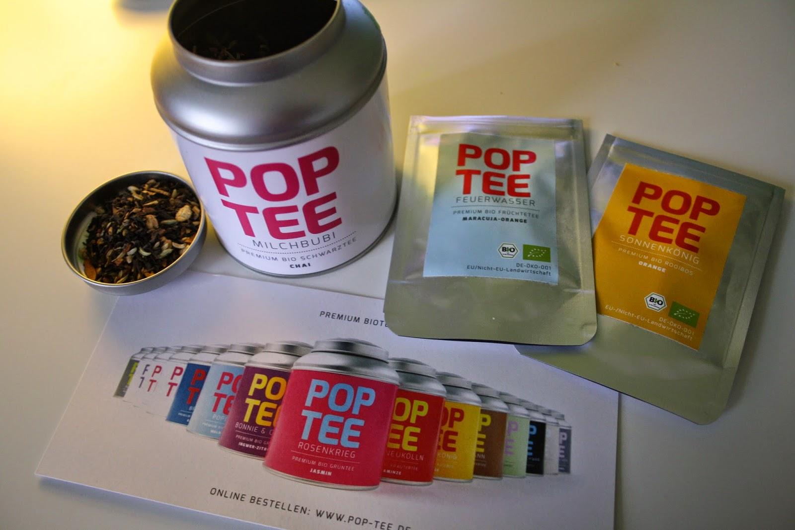Tea Talk: Pop Tee – Farbe fürs Teeregal