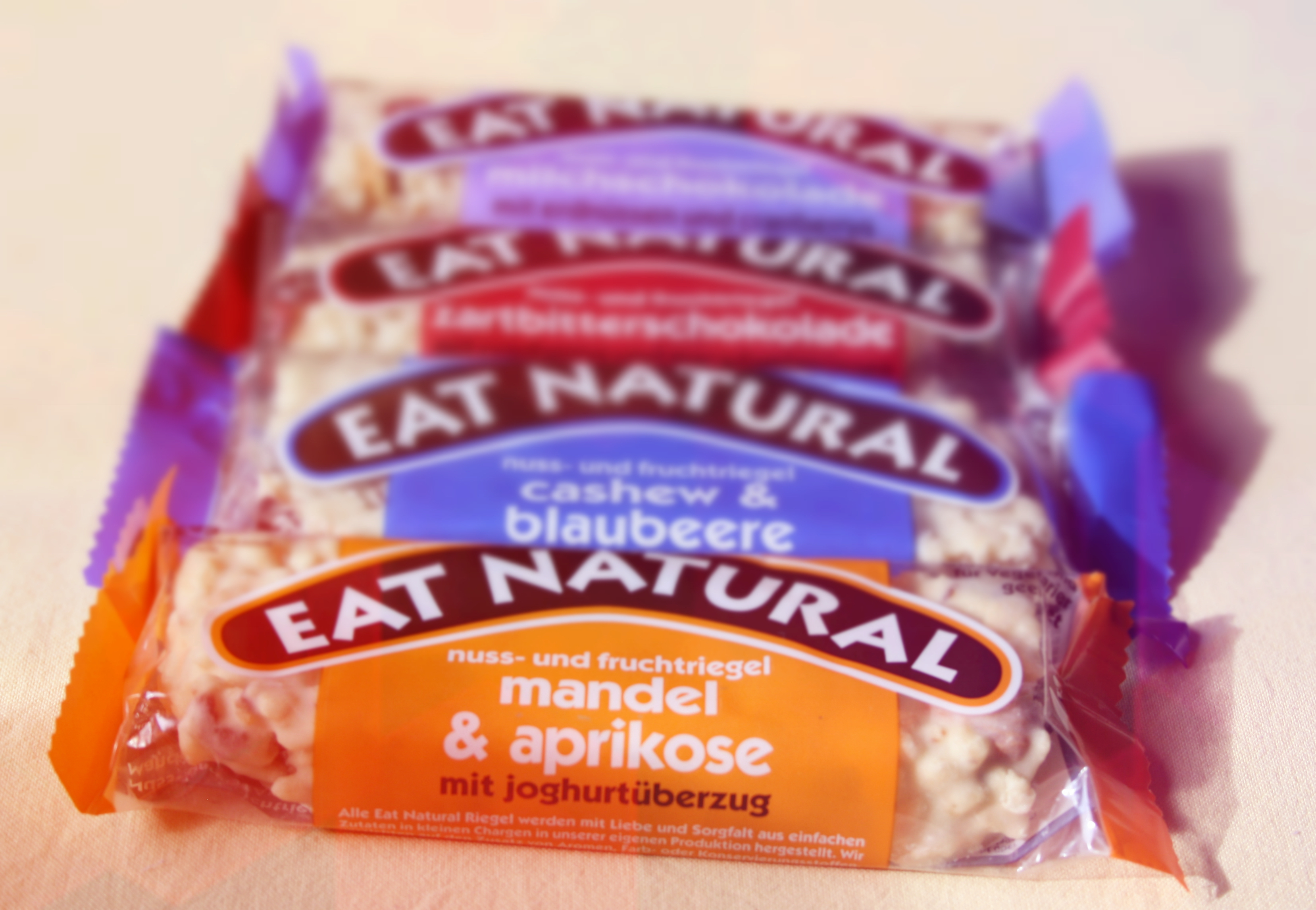 Müsliriegelreport: Eat Natural – Riegel und Müsli