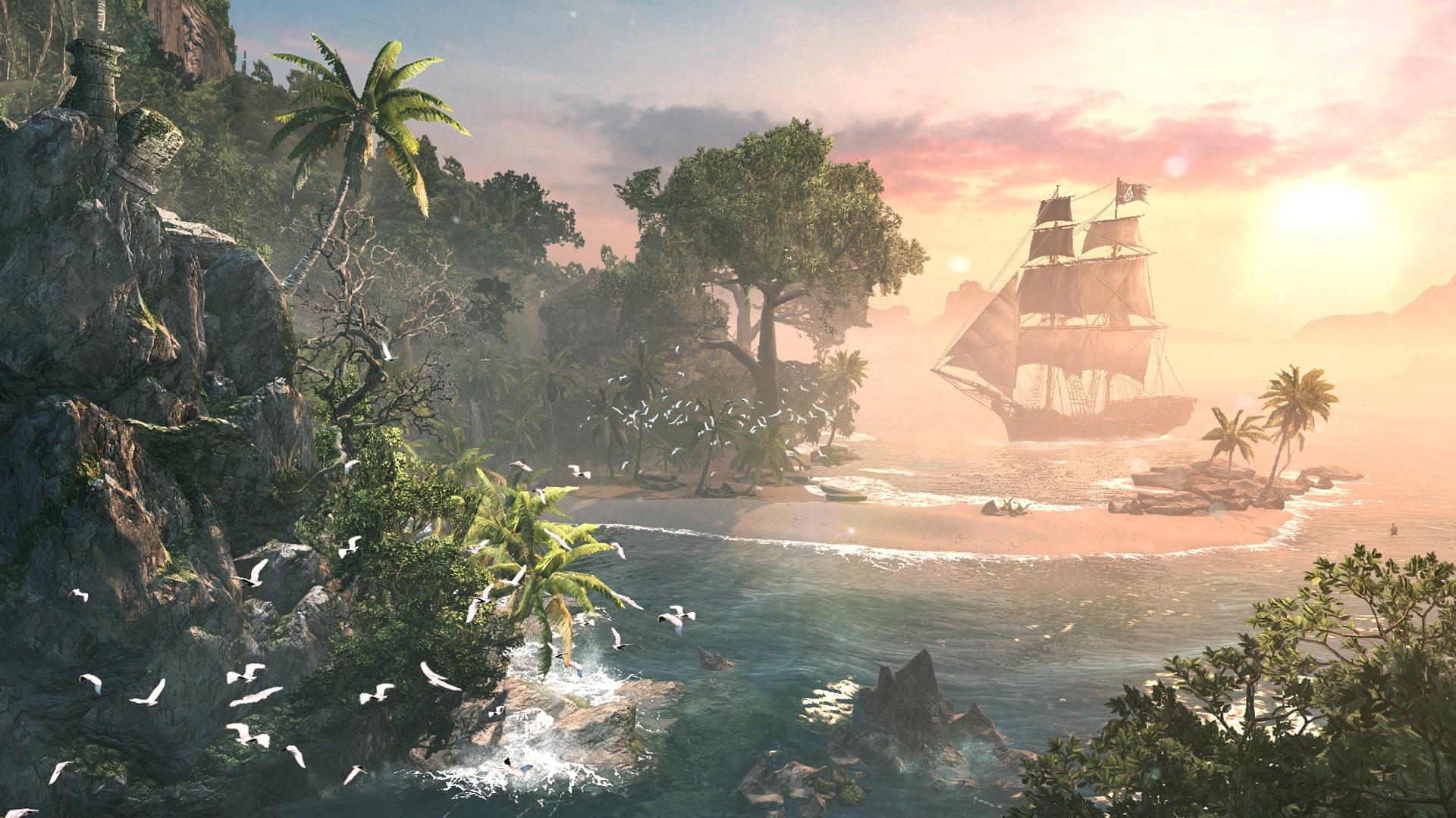 Assassin's Creed IV Black Flag – Seeschlachten und ganz viel heiße Luft