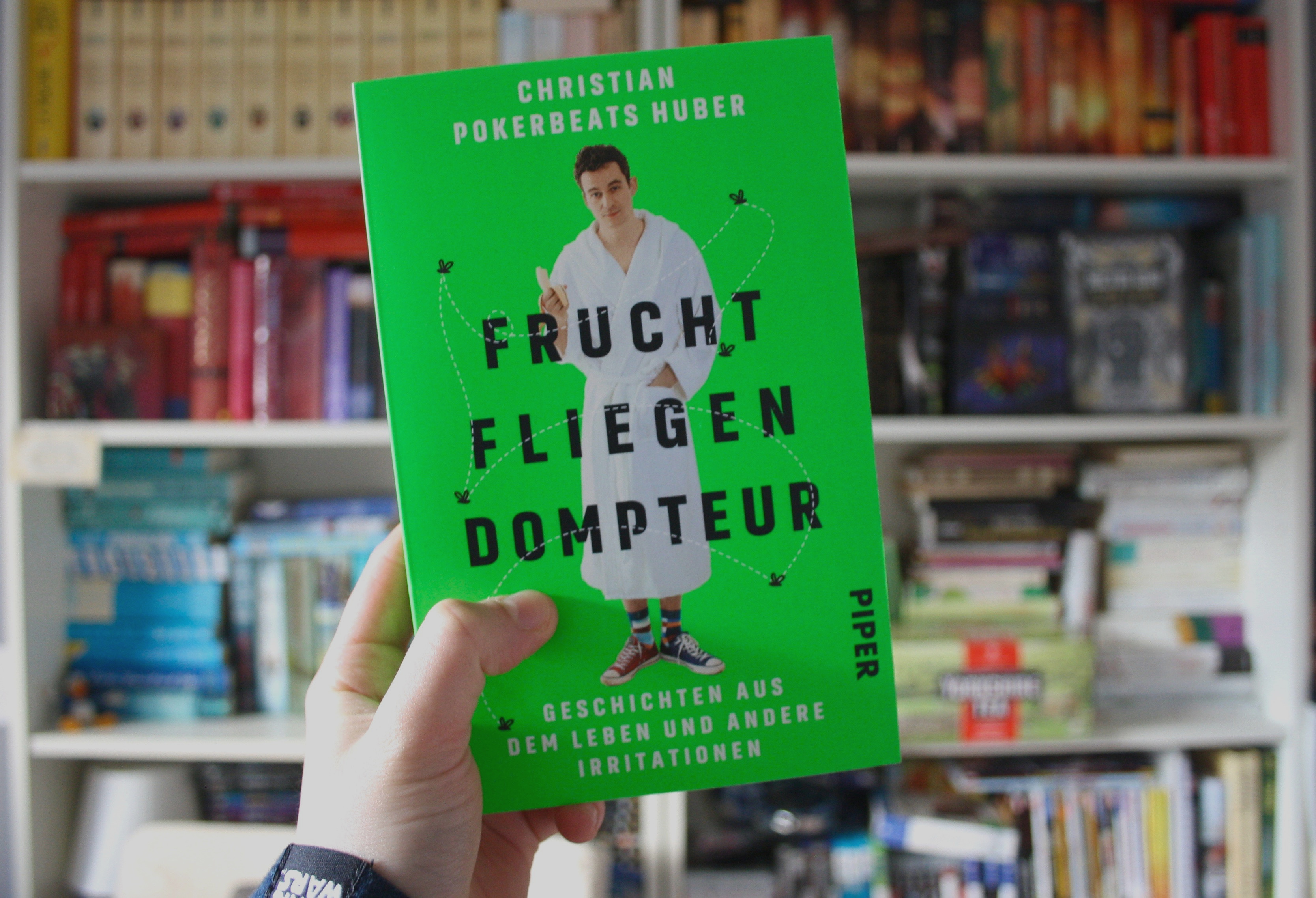 """Fruchtfliegendompteur"" – Christian 'Pokerbeats' Huber – Geschichten aus dem Leben und andere Irritationen"