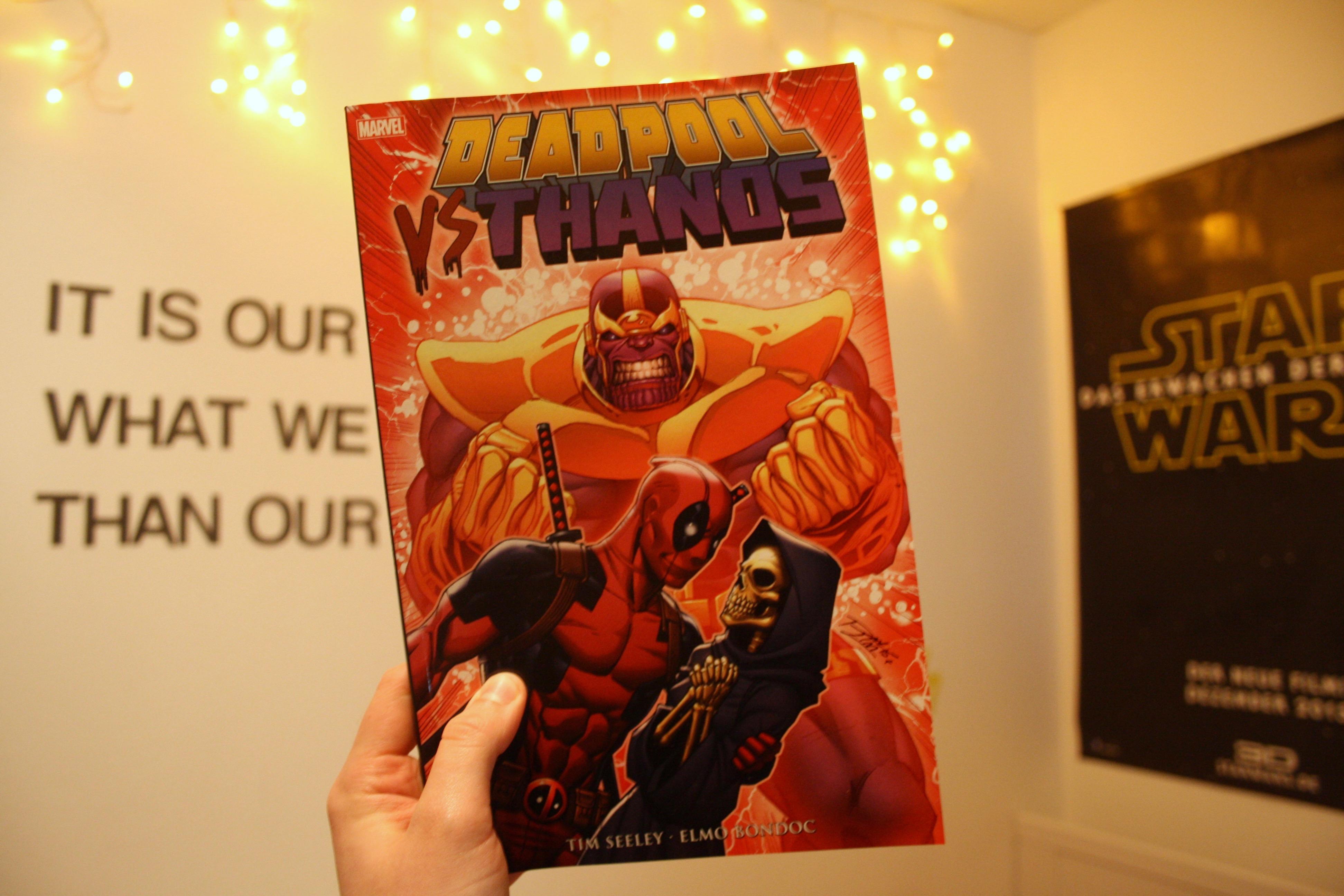 Deadpool vs. Thanos – Suprise, not dead