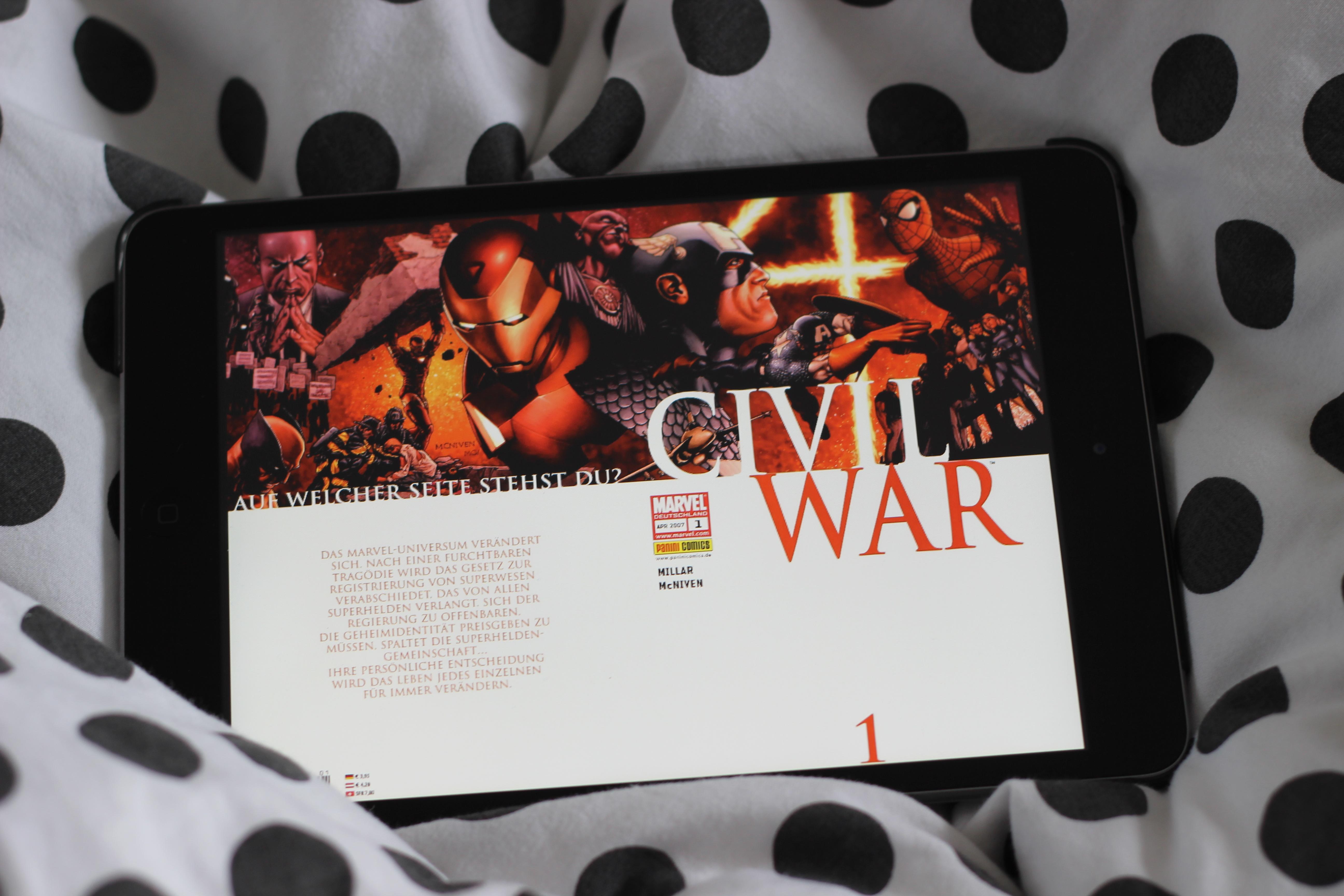 Civil War – das größte Marvel-Event unserer Zeit