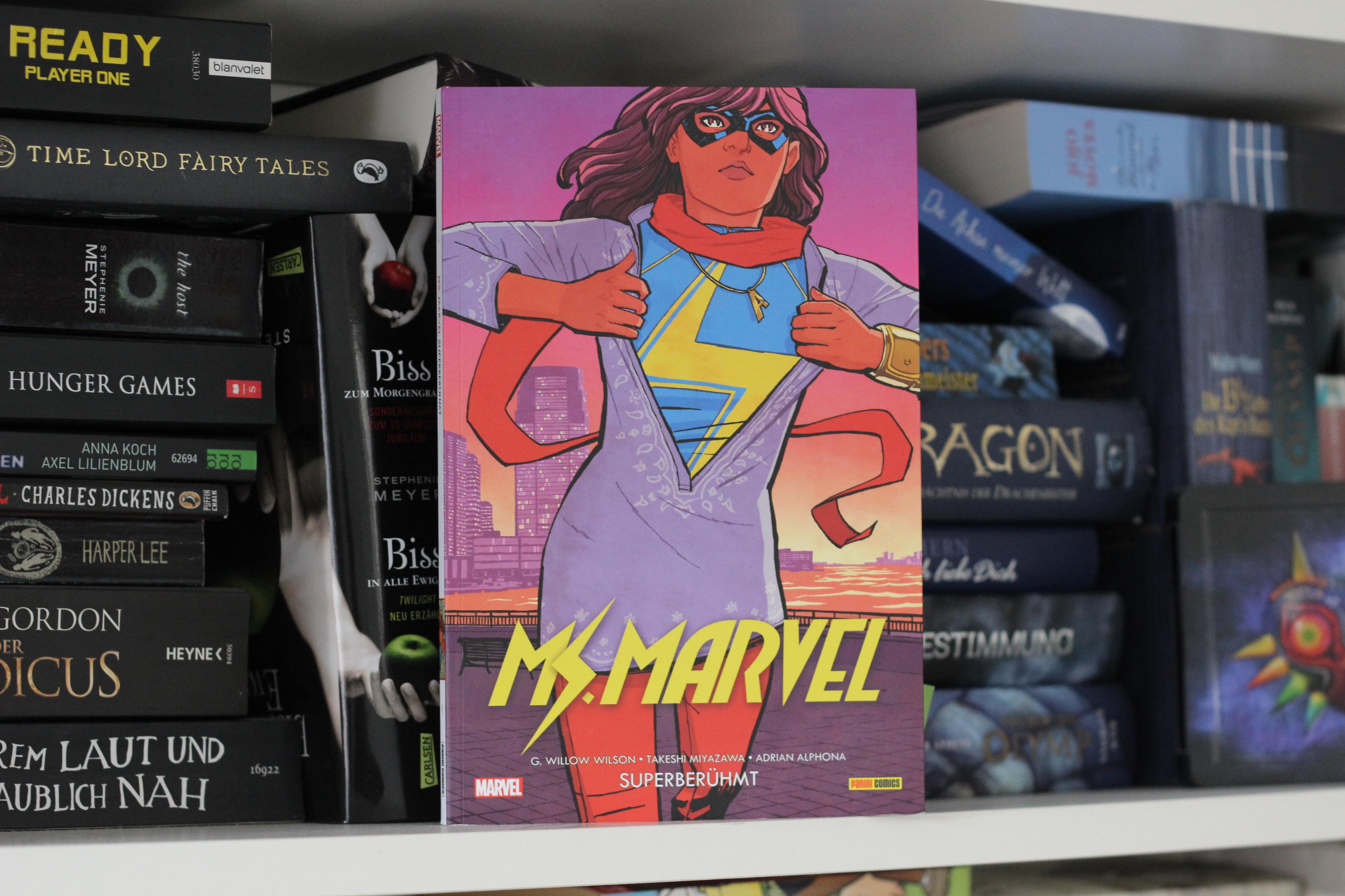 Ms. Marvel – Kulturklatsche mit Liebe zum Detail