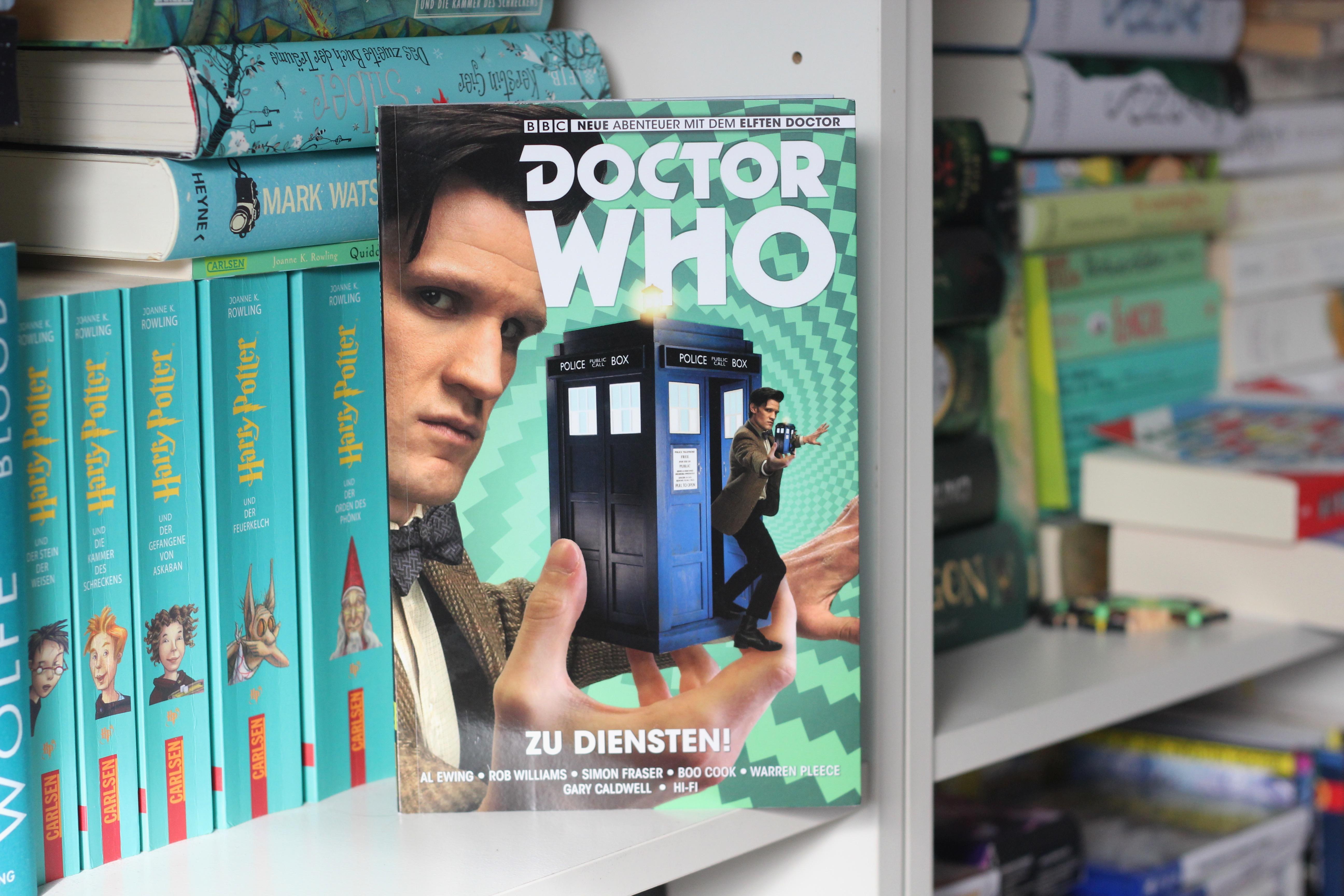Doctor Who – Der elfte Doktor – Zu Diensten!