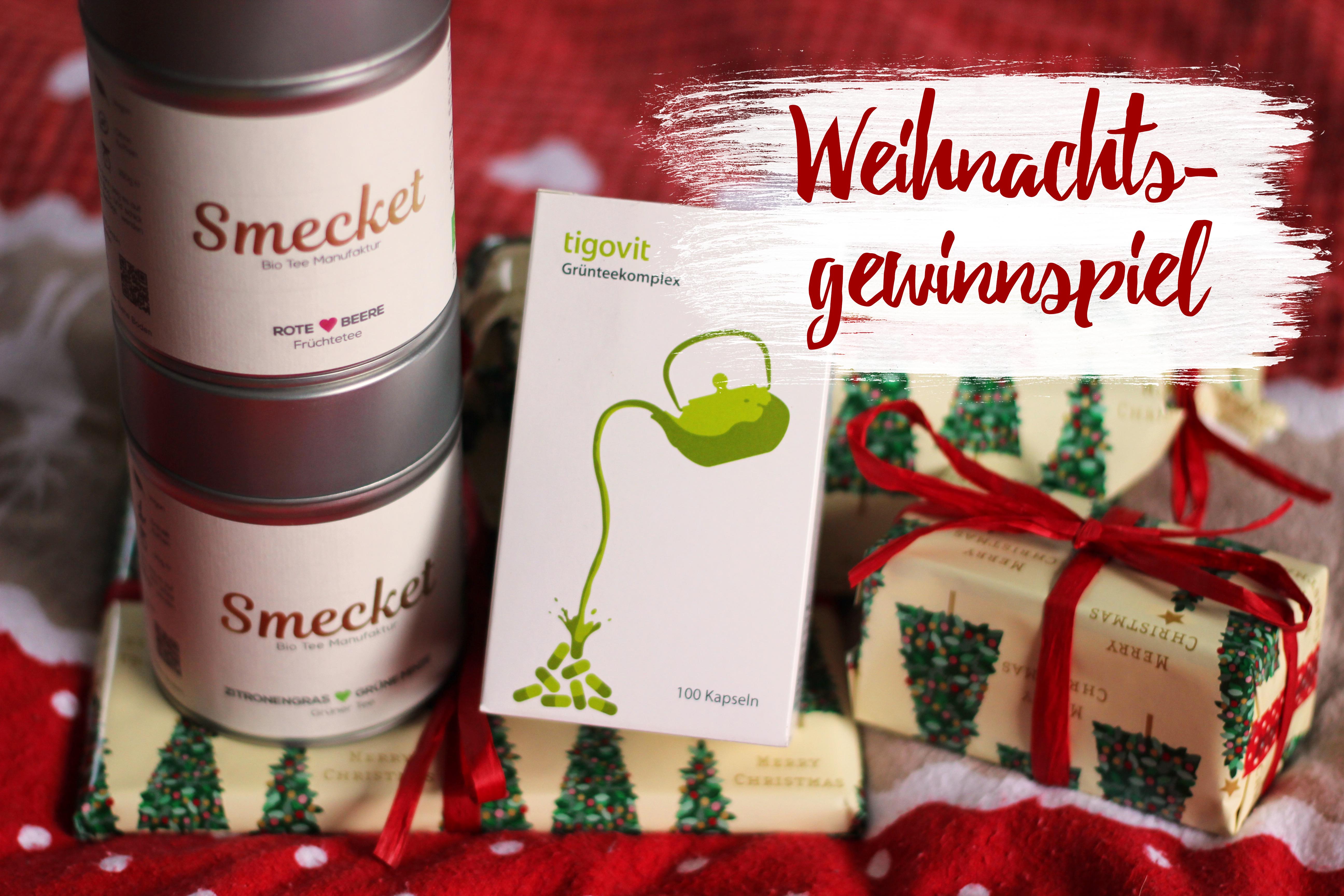 Tea Talk: Smecket und Tigovit – Weihnachtsgewinnspiel