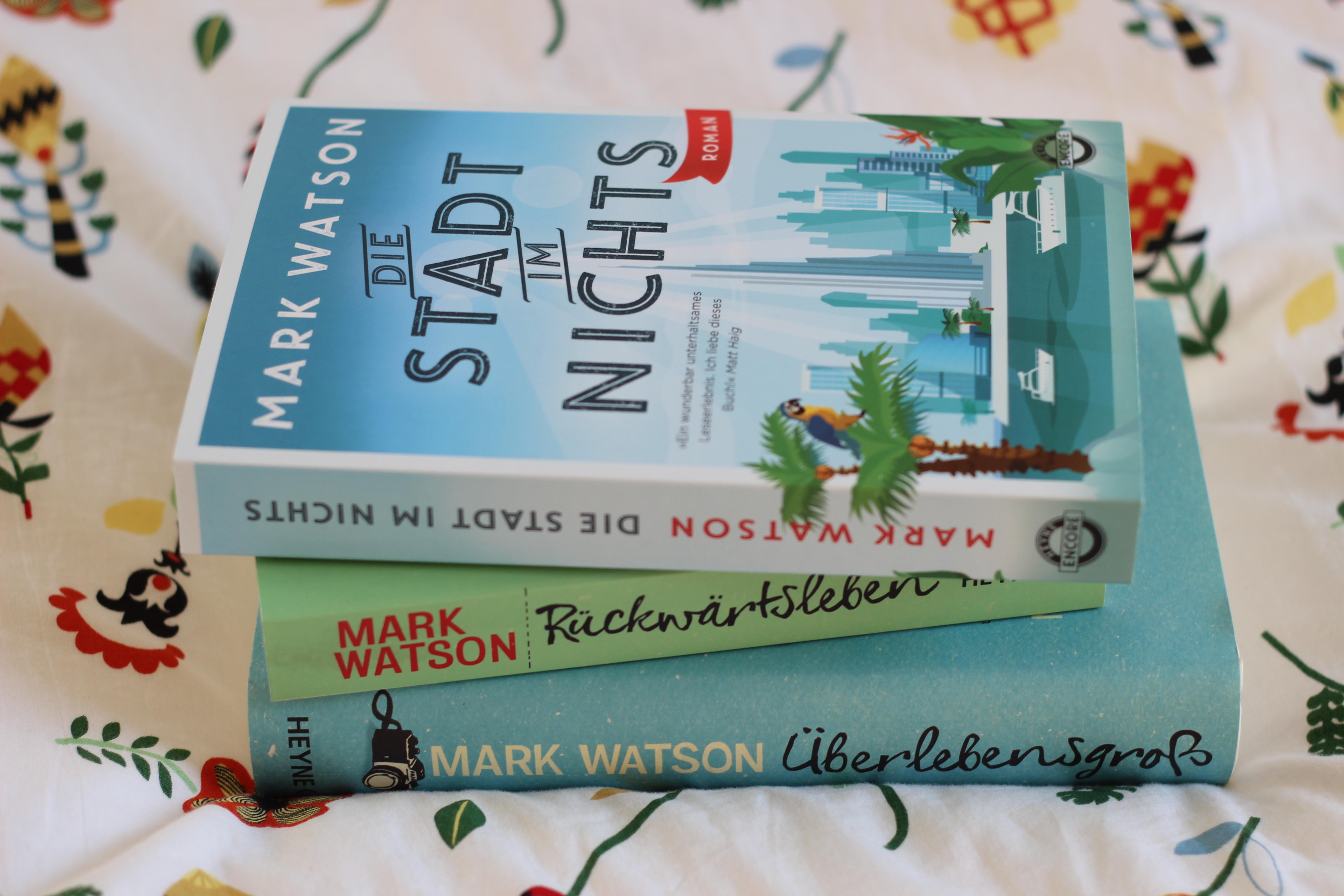 Die Stadt im Nichts – Mark Watson – Nichts als heiße (Wüsten-)Luft